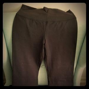 Black Lululemon Groove Pants, sz 10